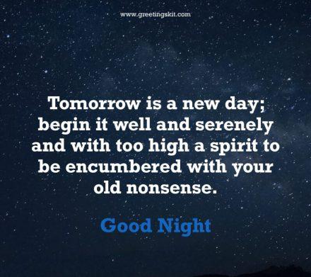 22 Inspirational Good Night Quotes