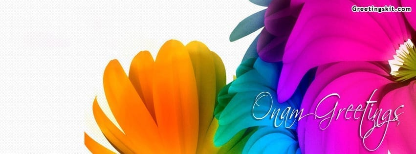 Onam Greetings Facebook Timeline Cover