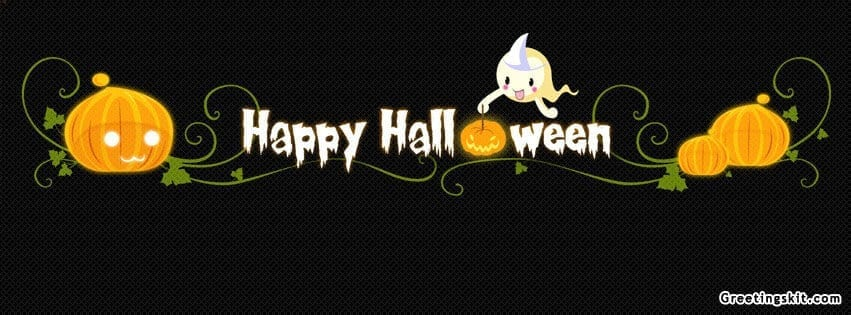 Happy Halloween Facebook Timeline Cover | October 6, 2012