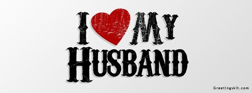 I Love My Husband FB Cover Photo