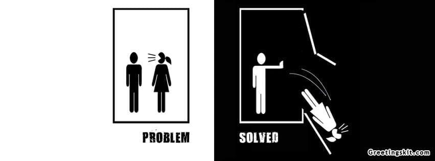 Problem Solved FB Timeline Cover