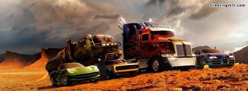 Transformers 4 Autobots FB Cover