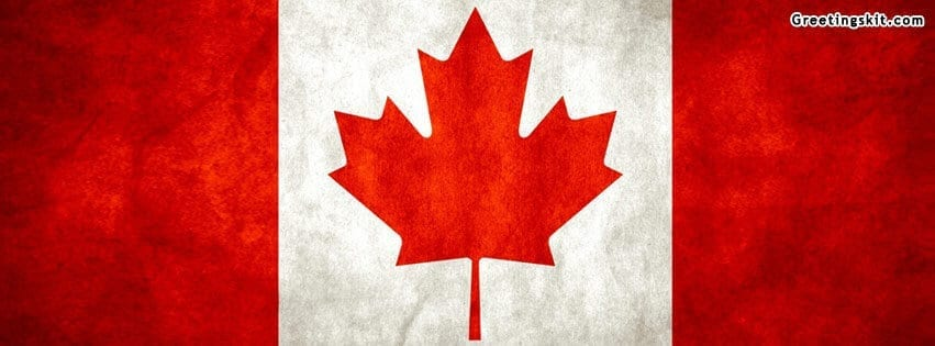 Canada Flag Facebook Timeline Cover