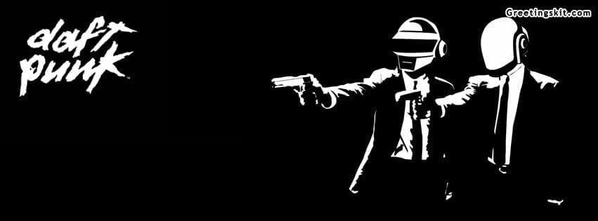 Daft Punk Facebook Timeline Cover Image