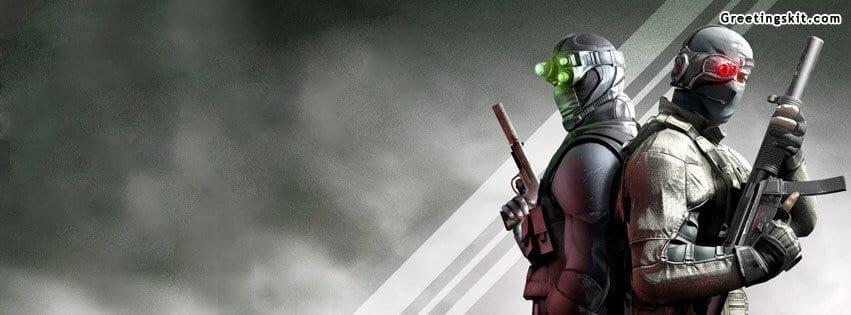 Splinter Cell Facebook Timeline Cover