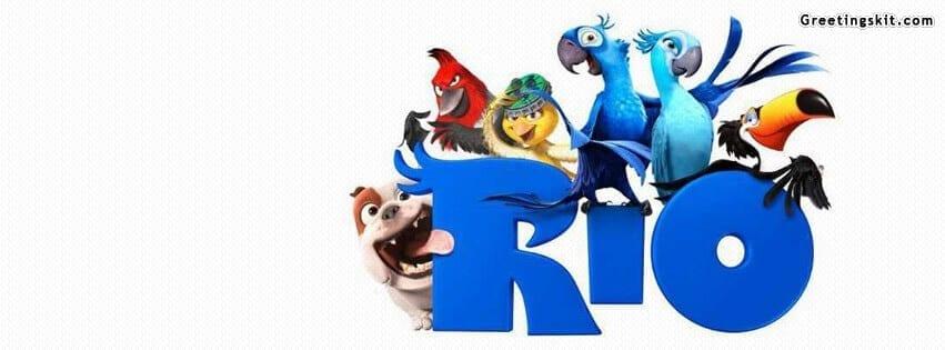 Rio Movie Facebook Timeline Cover