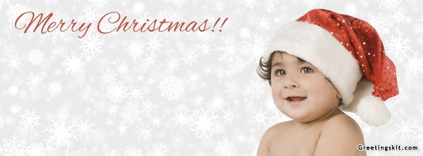 Christmas Baby Facebook Timeline Covers