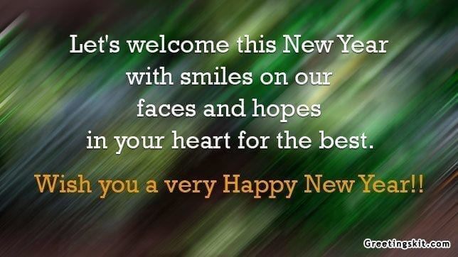 Happy New Year – Picture Quote