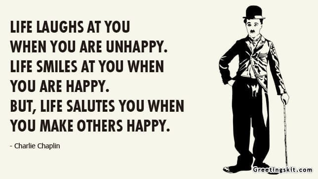 Life Salutes You – Picture Quote