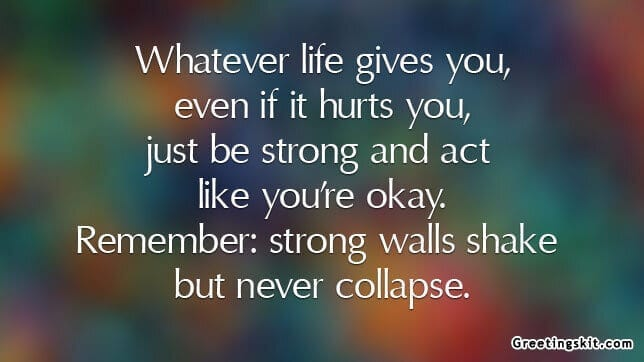 Whatever Life Gives You – Picture Quote