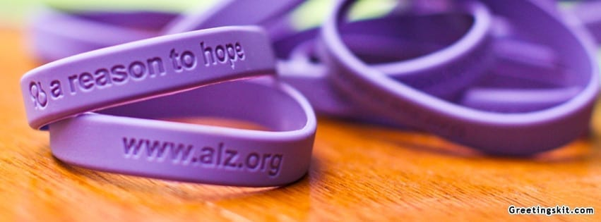 Alzheimers Awareness Bracelets Facebook Cover