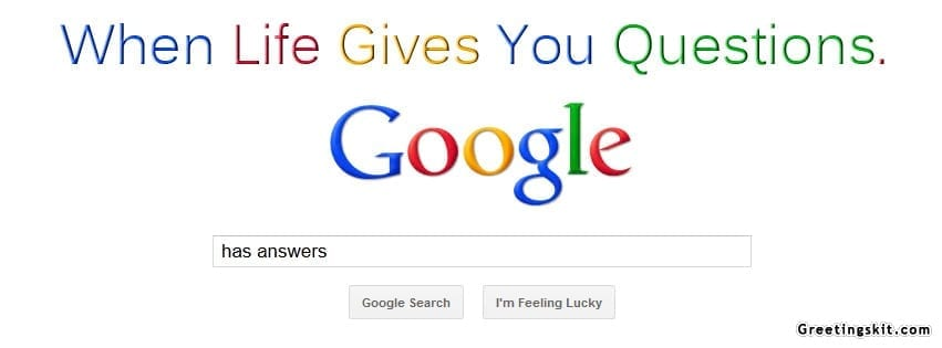 Google Has Answers Facebook Timeline Profile Cover Banner