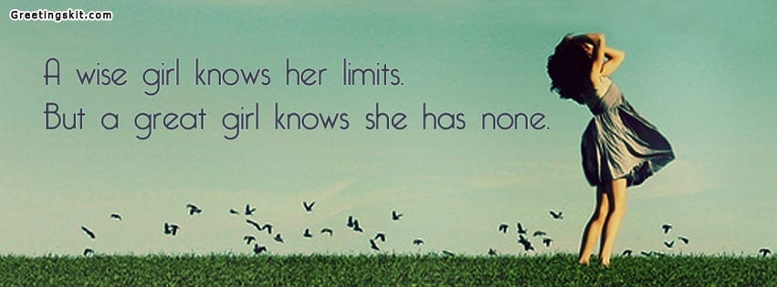 A Great Girl Facebook Timeline Cover