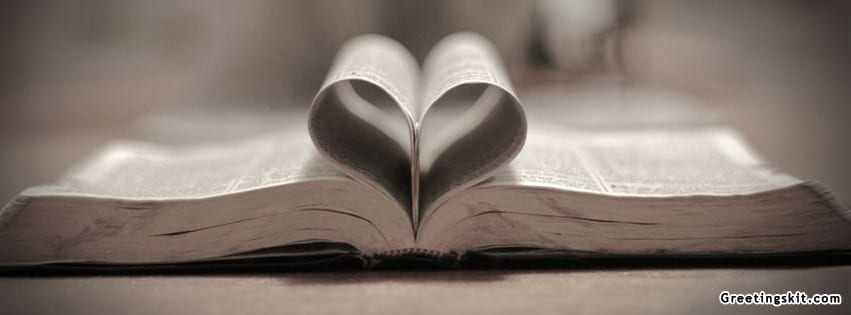 Bible Heart Facebook Timeline Cover