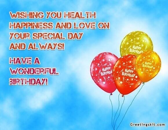 Birthday Wishes – Picture Quote