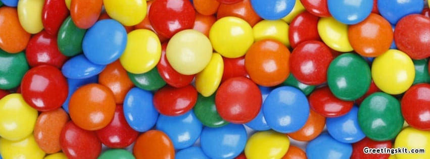 Colorful Candy Facebook Timeline Cover