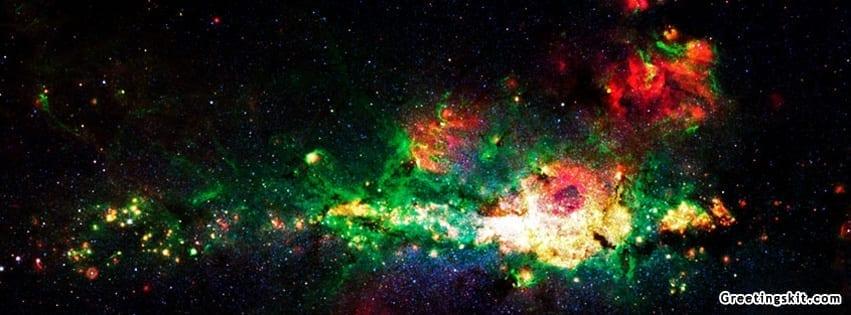Galaxy Space Facebook Cover