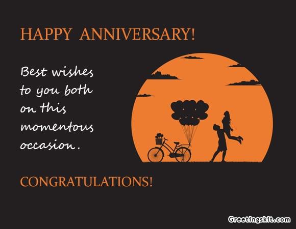 Happy Anniversary – Picture Quote