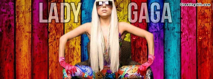 Lady Gaga Facebook Timeline Cover