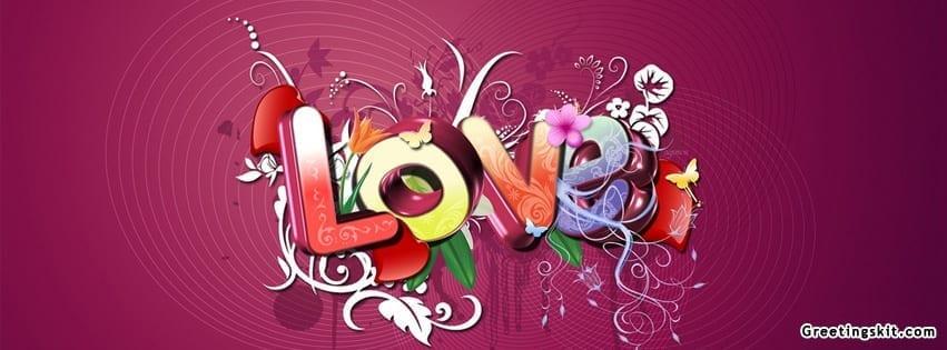 Love Facebook Timeline Cover