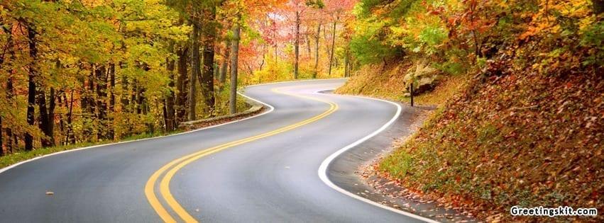 Road Facebook Timeline Cover