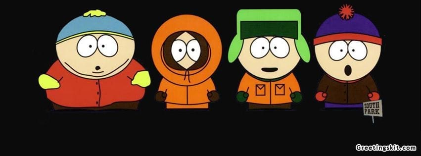 South Park Facebook Timeline Cover
